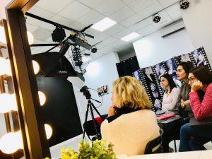 Cursos para presentadores de TV, Madrid