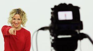 Olga Marset, periodista y presentadora de TV